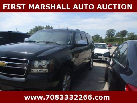 2007 Chevrolet Suburban for sale at First Marshall Auto Auction in Harvey IL