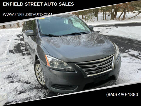 2015 Nissan Sentra for sale at ENFIELD STREET AUTO SALES in Enfield CT