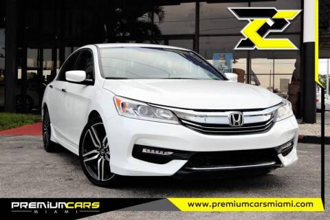 2017 Honda Accord for sale at Premium Cars of Miami in Miami FL