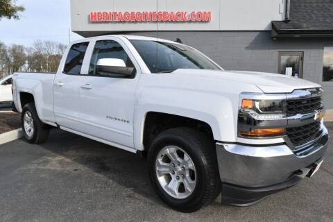 2018 Chevrolet Silverado 1500 for sale at Heritage Automotive Sales in Columbus in Columbus IN
