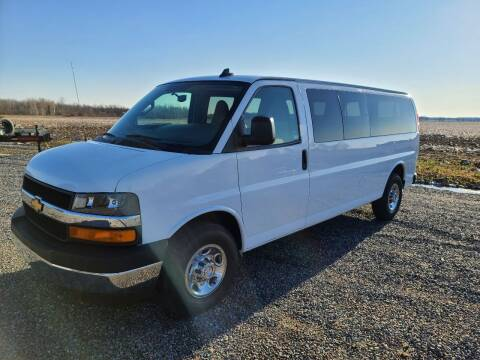 2017 Chevrolet Express Passenger for sale at Shinkles Auto Sales & Garage in Spencer WI