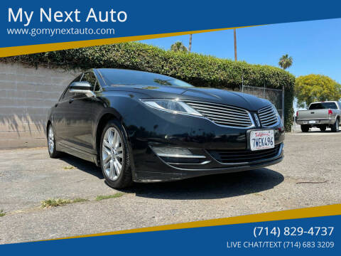 2013 Lincoln MKZ for sale at My Next Auto in Anaheim CA
