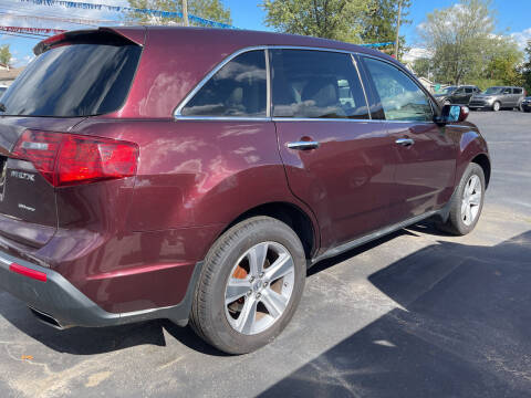 2011 Acura MDX for sale at Auto Exchange in The Plains OH