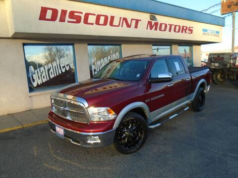 2012 RAM Ram Pickup 1500 for sale at Discount Motors in Pueblo CO