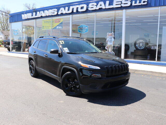 2017 Jeep Cherokee for sale at Williams Auto Sales, LLC in Cookeville TN