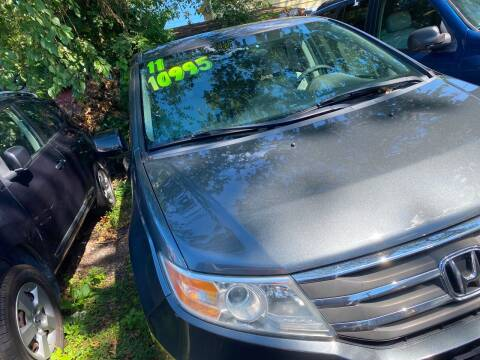 2011 Honda Odyssey for sale at GRAND USED CARS  INC in Little Ferry NJ