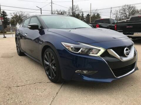 2016 Nissan Maxima for sale at Auto Gallery LLC in Burlington WI