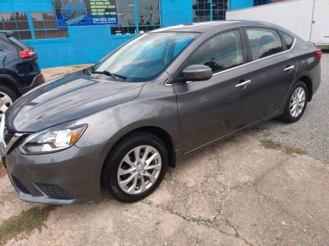 2017 Nissan Sentra for sale at HWY 49 MOTORCYCLE AND AUTO CENTER in Liberty NC