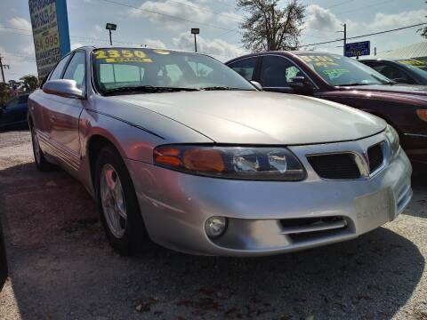 2002 Pontiac Bonneville for sale at AFFORDABLE AUTO SALES OF STUART in Stuart FL