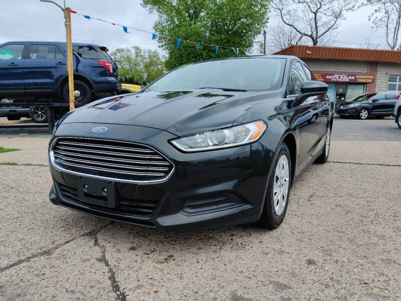 2014 Ford Fusion for sale at Lamarina Auto Sales in Dearborn Heights MI