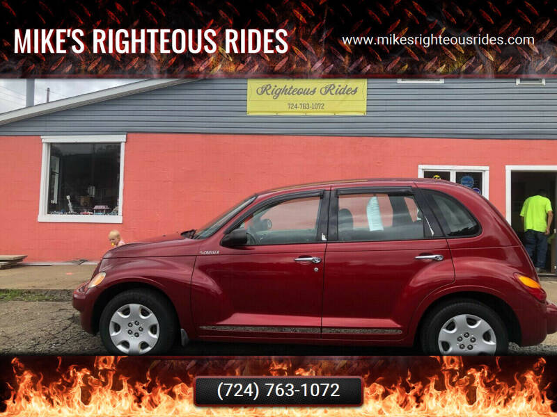 2005 Chrysler PT Cruiser for sale at Mike's Righteous Rides in Mc Grann PA