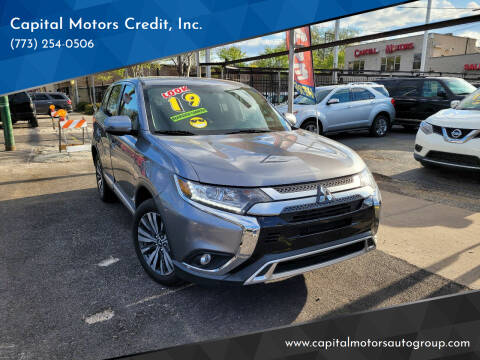 2019 Mitsubishi Outlander for sale at Capital Motors Credit, Inc. in Chicago IL