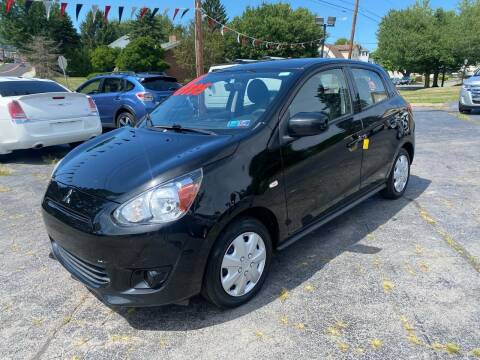 2015 Mitsubishi Mirage for sale at Car Man Auto in Old Forge PA
