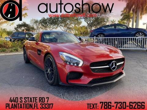 2017 Mercedes-Benz AMG GT for sale at AUTOSHOW SALES & SERVICE in Plantation FL