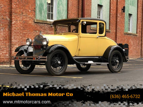 1929 Ford Model A for sale at Michael Thomas Motor Co in Saint Charles MO