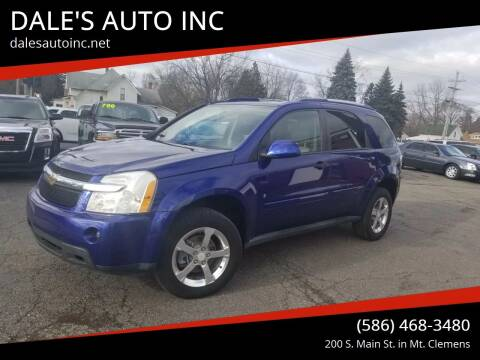 2007 Chevrolet Equinox for sale at DALE'S AUTO INC in Mt Clemens MI