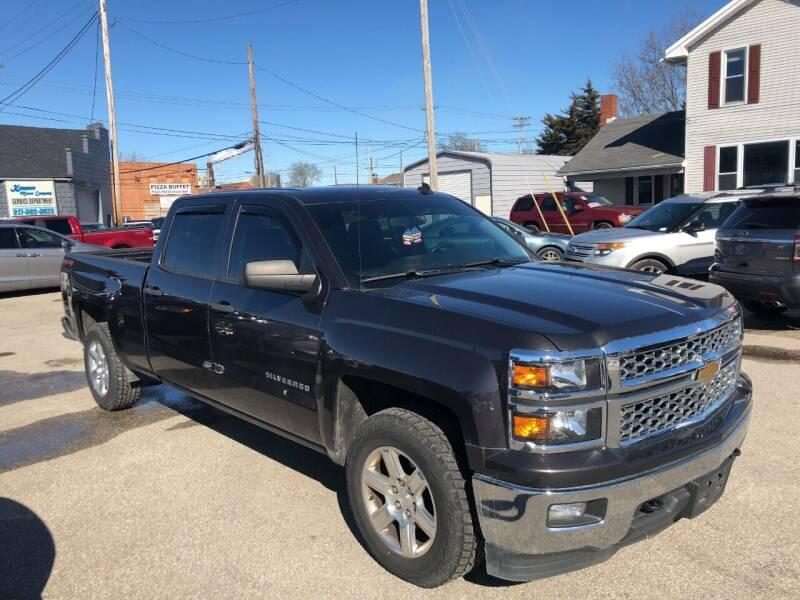 2014 Chevrolet Silverado 1500 for sale at Kramer Motor Co INC in Shelbyville IN