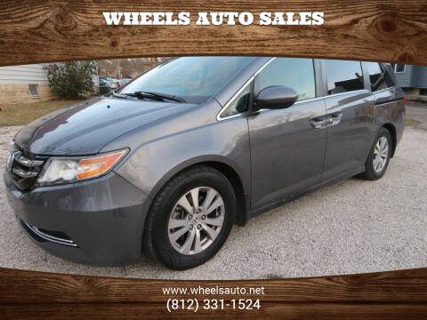 2015 Honda Odyssey for sale at Wheels Auto Sales in Bloomington IN