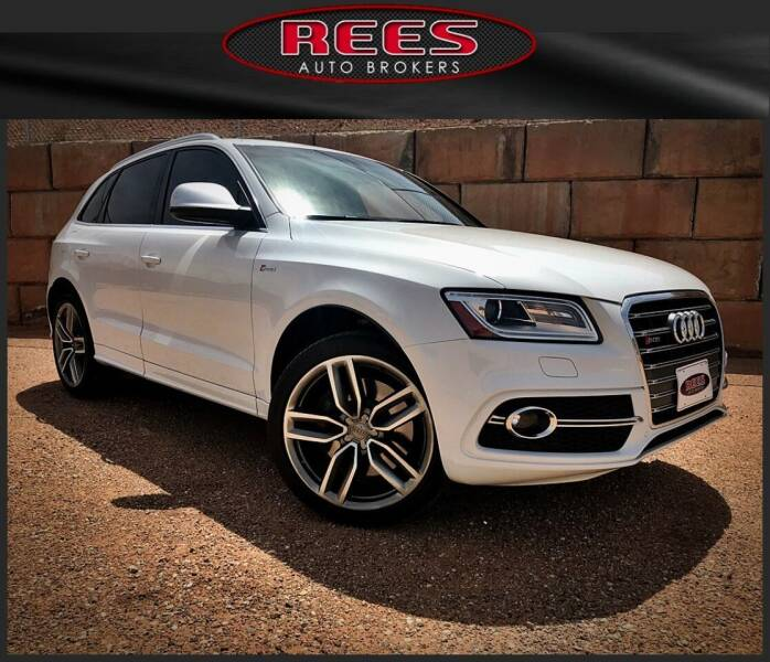 2014 Audi SQ5 for sale at REES AUTO BROKERS in Washington UT