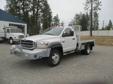 2009 Sterling BULLET 5500 FLATBED 4X4   for sale at BJ'S COMMERCIAL TRUCKS in Spokane Valley WA