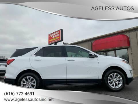 2018 Chevrolet Equinox for sale at Ageless Autos in Zeeland MI