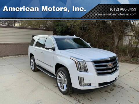2018 Cadillac Escalade for sale at American Motors, Inc. in Farmington MN