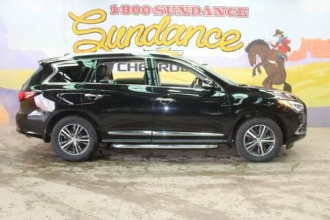 2017 Infiniti QX60 for sale at Sundance Chevrolet in Grand Ledge MI