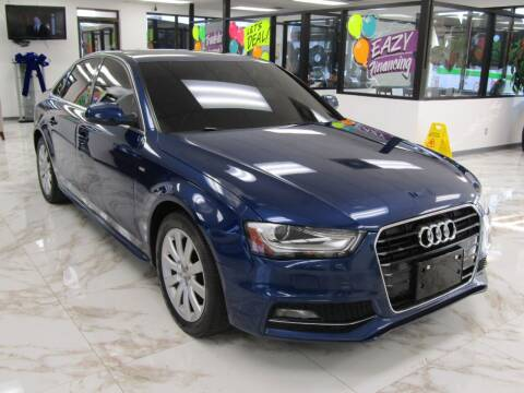 2015 Audi A4 for sale at Dealer One Auto Credit in Oklahoma City OK