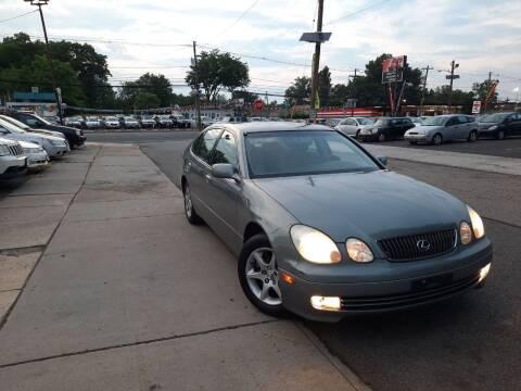 2002 Lexus GS 300 for sale at K & S Motors Corp in Linden NJ