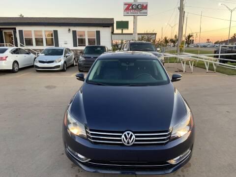 2013 Volkswagen Passat for sale at Zoom Auto Sales in Oklahoma City OK