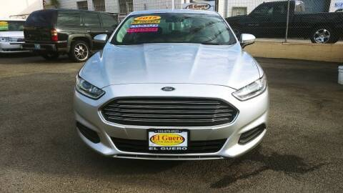 2015 Ford Fusion for sale at El Guero Auto Sale in Hawthorne CA