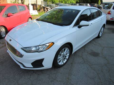 2019 Ford Fusion Hybrid for sale at King of Auto in Stone Mountain GA