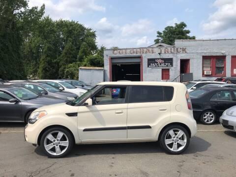 2010 Kia Soul for sale at Dan's Auto Sales and Repair LLC in East Hartford CT