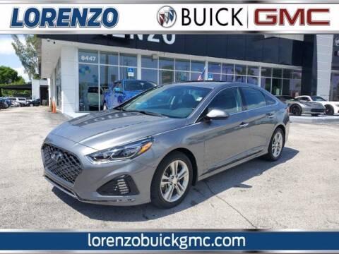 2018 Hyundai Sonata for sale at Lorenzo Buick GMC in Miami FL