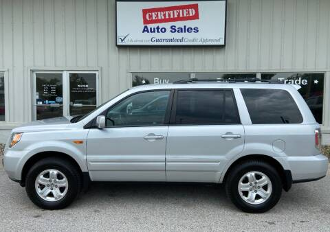 2008 Honda Pilot for sale at Certified Auto Sales in Des Moines IA