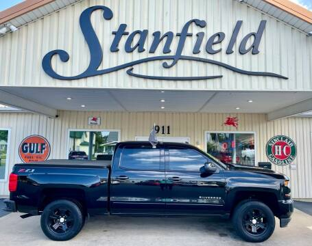 2018 Chevrolet Silverado 1500 for sale at Stanfield Auto Sales in Greenfield IN