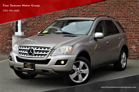 2009 Mercedes-Benz M-Class for sale at Four Seasons Motor Group in Swampscott MA