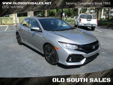 2018 Honda Civic for sale at OLD SOUTH SALES in Vero Beach FL