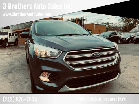 2017 Ford Escape for sale at 3 Brothers Auto Sales Inc in Detroit MI