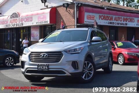 2017 Hyundai Santa Fe for sale at www.onlycarsnj.net in Irvington NJ