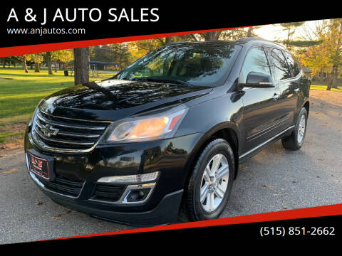 2013 Chevrolet Traverse for sale at A & J AUTO SALES in Eagle Grove IA