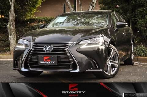 2017 Lexus GS 350 for sale at Gravity Autos Atlanta in Atlanta GA