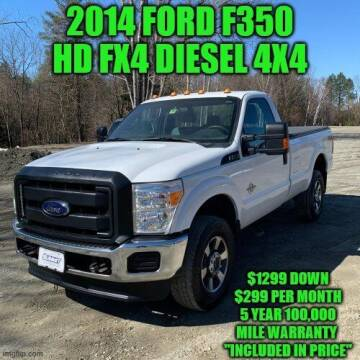 2014 Ford F-350 Super Duty for sale at D&D Auto Sales, LLC in Rowley MA