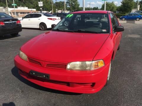 1999 Mitsubishi Mirage for sale at Dad's Auto Sales in Newport News VA