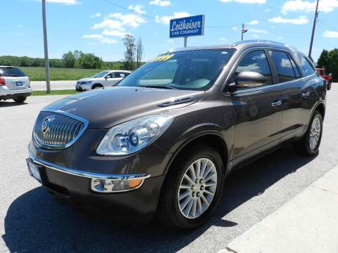 2010 Buick Enclave for sale at Leitheiser Car Company in West Bend WI