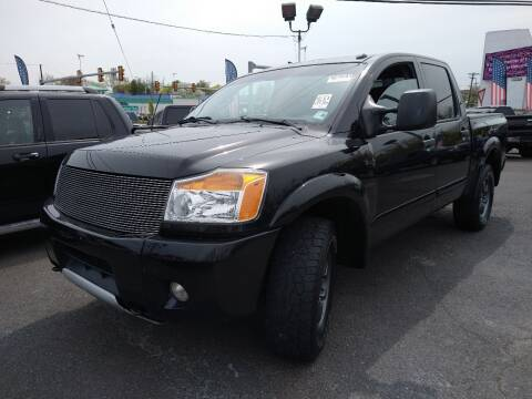 2015 Nissan Titan for sale at P J McCafferty Inc in Langhorne PA