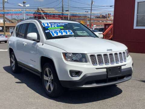 2017 Jeep Compass for sale at Active Auto Sales in Hatboro PA