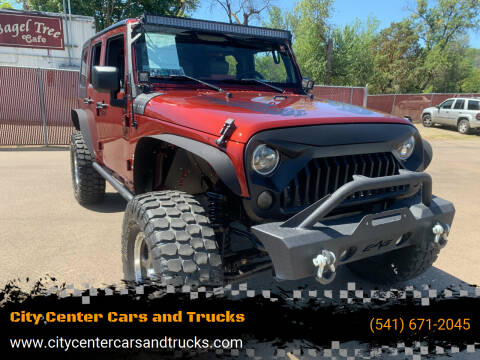 2007 Jeep Wrangler Unlimited for sale at City Center Cars and Trucks in Roseburg OR