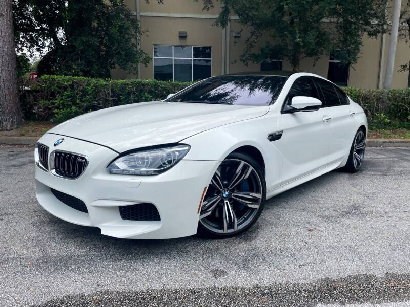 2014 BMW M6 for sale at CARPORT SALES AND  LEASING in Oviedo FL