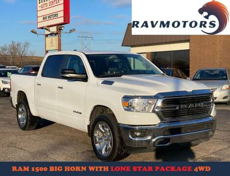 2019 RAM Ram Pickup 1500 for sale at RAVMOTORS in Burnsville MN